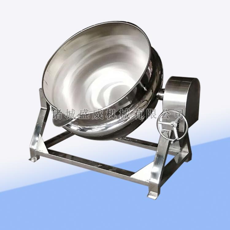 可倾斜夹层锅