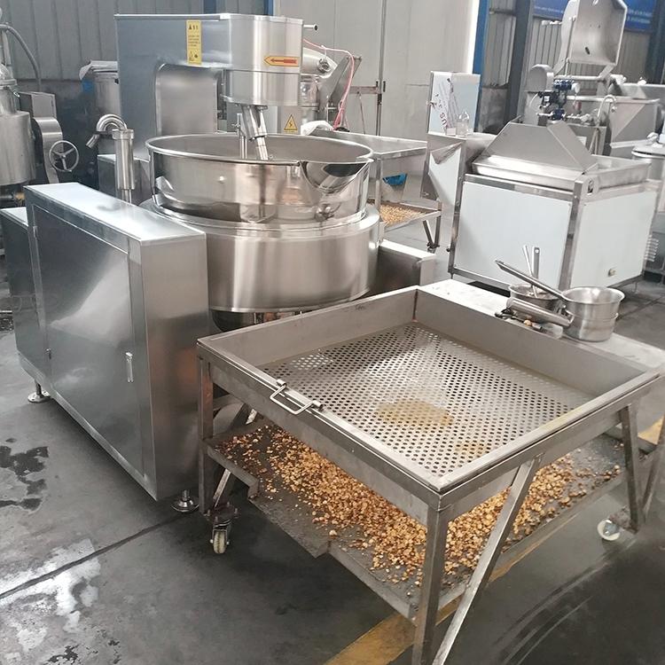 蹦爆米花的机器